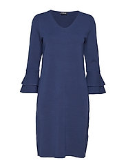 DRESS KNITWEAR - PIGEON BLUE