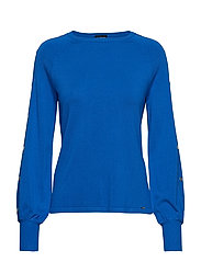 PULLOVER LONG-SLEEVE - COBALT BLUE