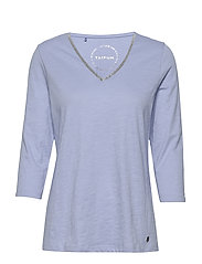 T-SHIRT 3/4-SLEEVE R - BLUE MARGUERITE