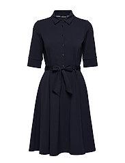 DRESS WOVEN FABRIC - BLUE SHADOW