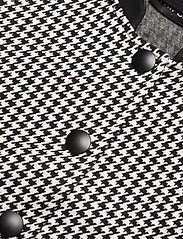 Taifun - JACKET KNIT FABRICS - ulljackor - black patterned - 2