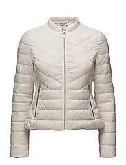 OUTDOOR JACKET NO WO - WHITE SWAN