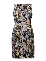 DRESS WOVEN FABRIC - ORCHID PRINT