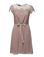 DRESS WOVEN FABRIC - MISTY ROSE