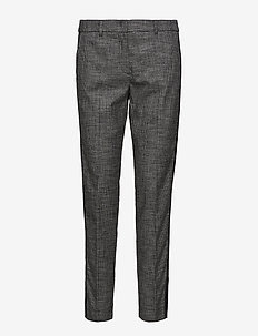 LEISURE TROUSERS LON - spodnie na co dzień - black patterned