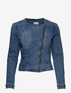 JACKET JEANS WOVEN - BLUE DENIM