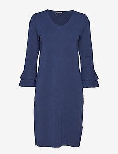DRESS KNITWEAR - PIGEON BLUE