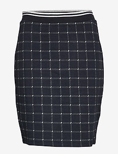 SKIRT KNITWEAR - NAVY PATTERND