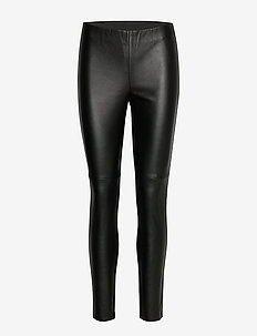 LEISURE TROUSERS LON - BLACK