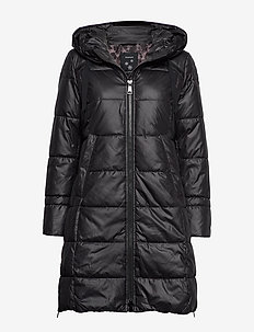 COAT NOT WOOL - BLACK