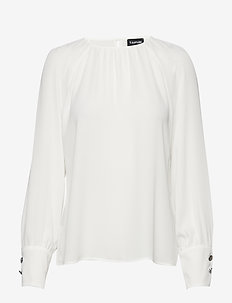 BLOUSE LONG-SLEEVE - OFFWHITE