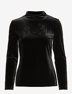T-SHIRT LONG-SLEEVE - BLACK