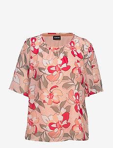T-SHIRT SHORT-SLEEVE - t-shirts - apricot blush patterned
