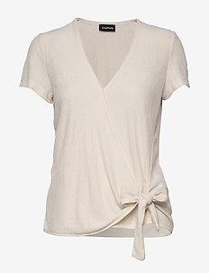 T-SHIRT SHORT-SLEEVE - t-shirts - linen