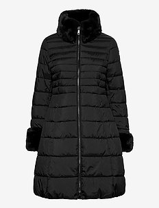 OUTDOOR JACKET NO WO - dunkappor - black