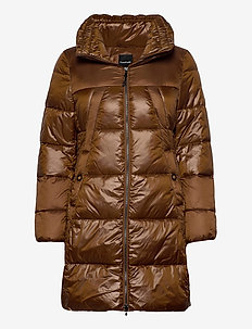 OUTDOOR JACKET NO WO - dunkappor - truffle brown