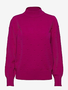 PULLOVER LONG-SLEEVE - gensere - cerise