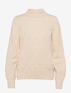 PULLOVER LONG-SLEEVE - gensere - winter white