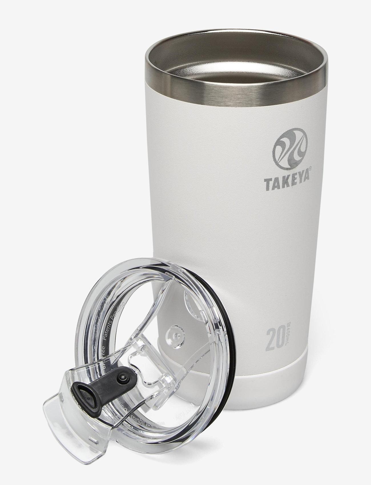 Takeya - TAKEYA Actives Insulated Tumblers 20oz/600ml - mugs isothermes - artic - 1