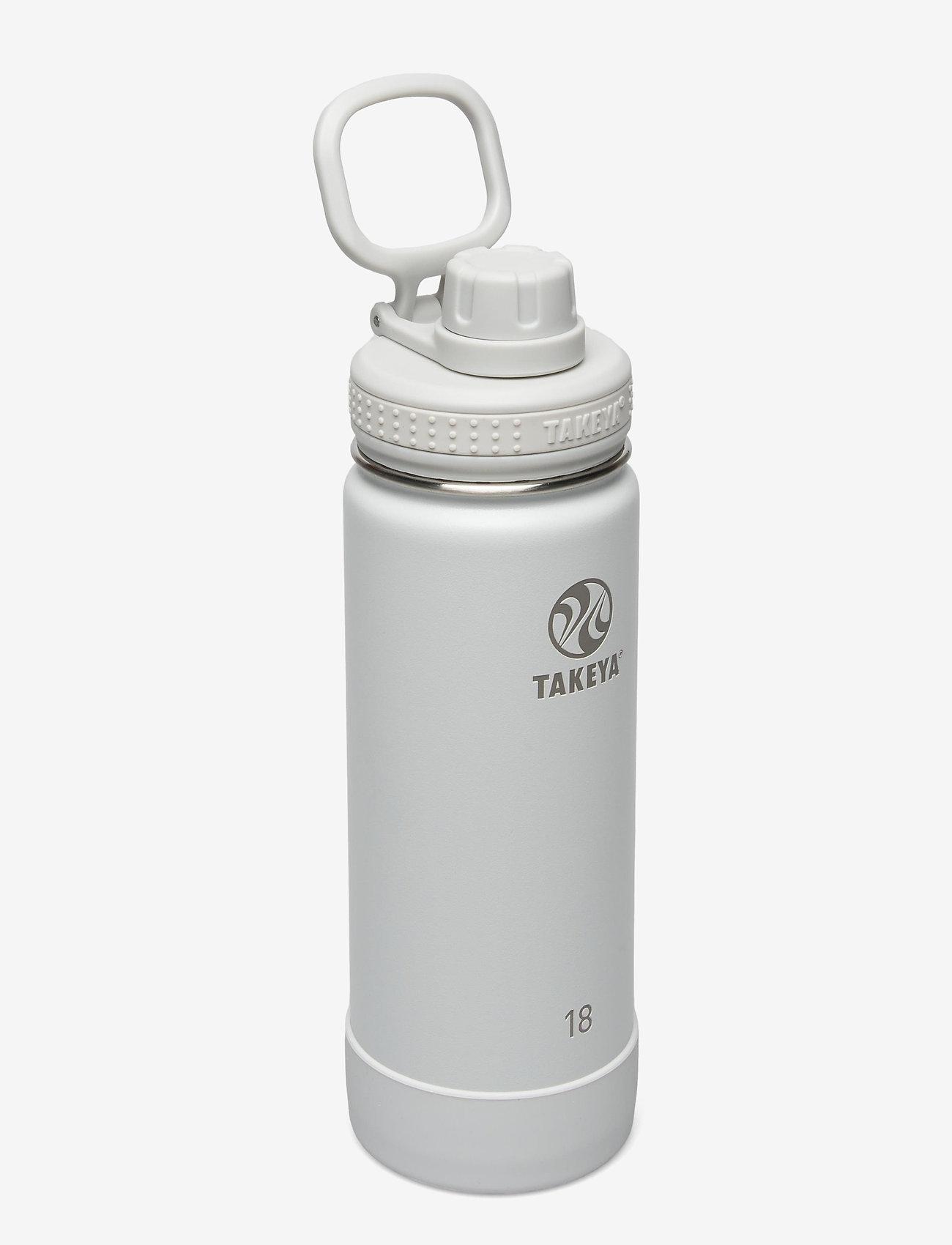 Takeya - TAKEYA Actives Insulated Bottle 18oz/530ml - vannflasker og termoser - pebble - 0