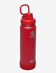 Takeya - TAKEYA Actives Insulated Bottle 24oz/700ml - vannflasker og termoser - fire - 0