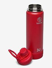 Takeya - TAKEYA Actives Insulated Bottle 24oz/700ml - vannflasker og termoser - fire - 1