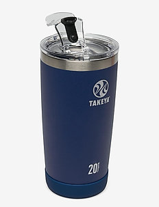 TAKEYA Actives Insulated Tumblers 20oz/600ml - thermal bottles - midnight