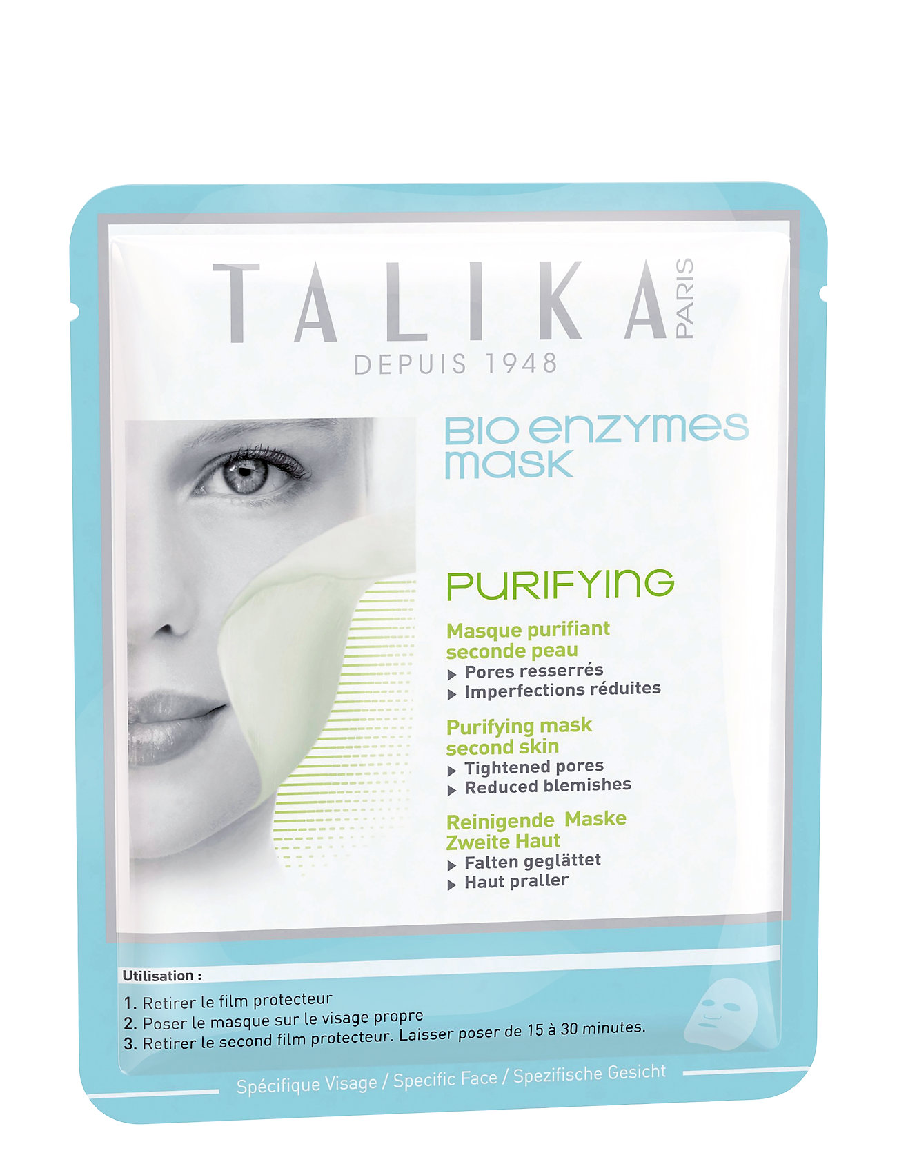 Talika Bio Enzymes Purifying Mask - CLEAR