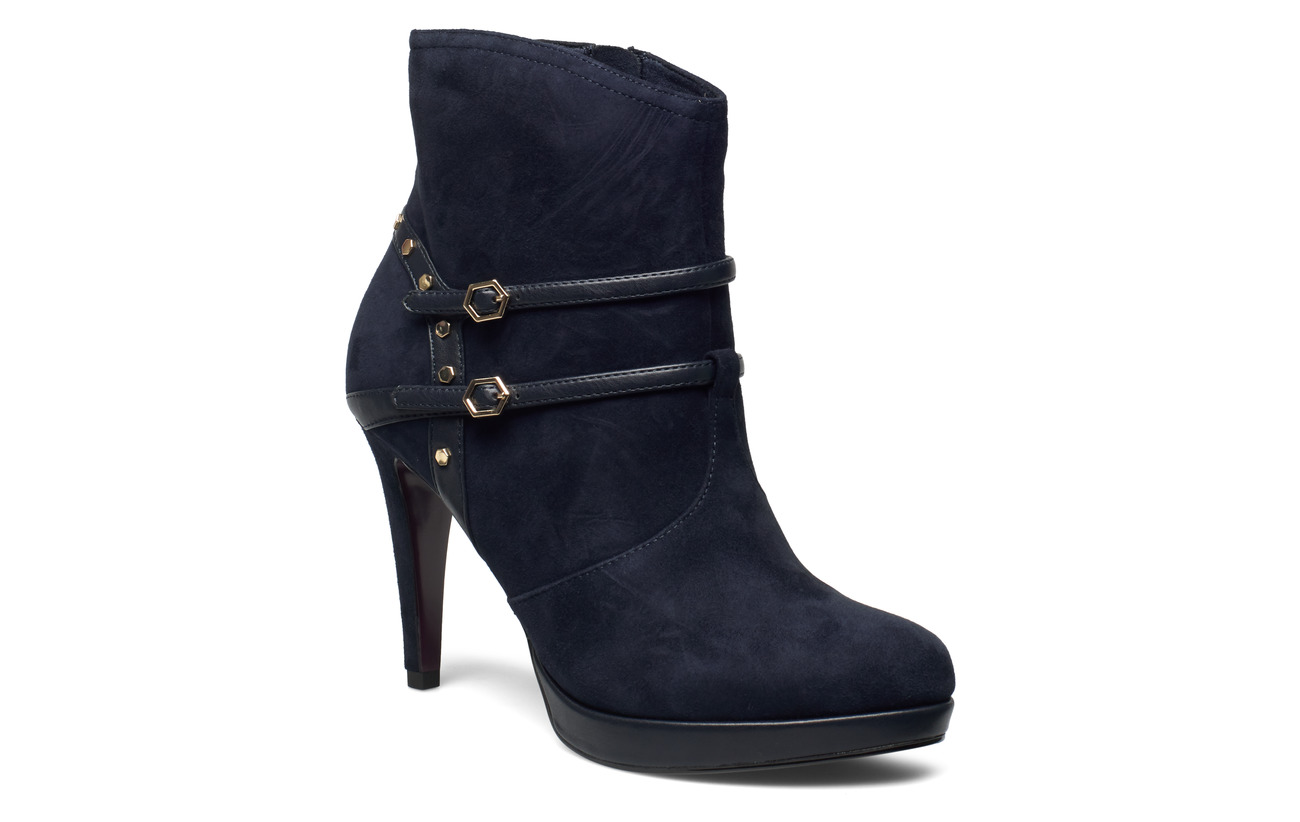 Tamaris Heart & Sole Woms Boots - NAVY SUEDE