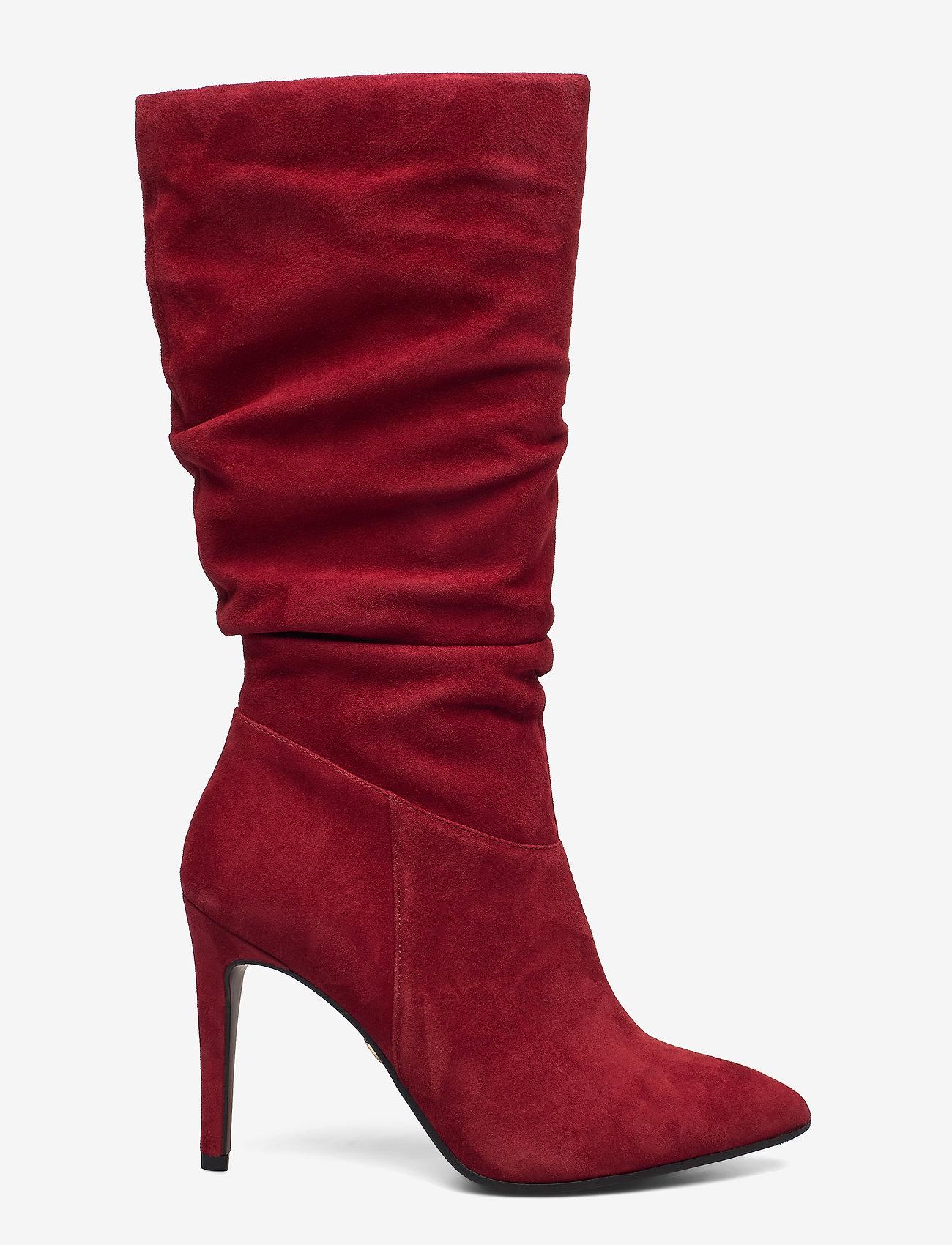 Tamaris Heart & Sole - Woms Boots - lange laarzen - ruby - 1