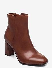 Tamaris Heart & Sole - Woms Boots - enkellaarsjes met hak - brandy - 0