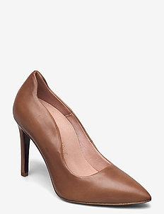 Woms Court Shoe - klassieke pumps - nut