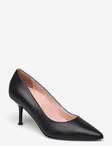 Woms Court Shoe - klassiske pumps - black leather