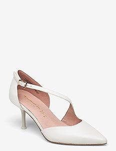 Woms Slip-on - klassieke pumps - white pearl