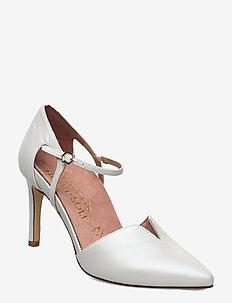 Woms Slip-on - klassiske pumps - white pearl