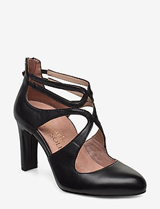 Woms Slip-on - klassiske pumps - black