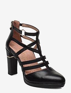 Woms Slip-on - klassische pumps - black leather