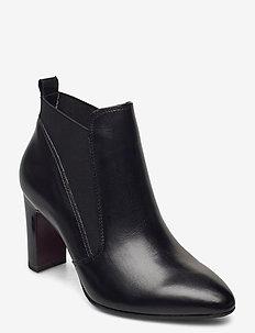 Woms Boots - ankelstøvler med hæl - black