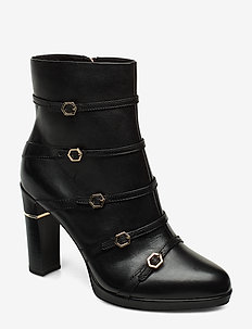Woms Boots - wysoki obcas - black