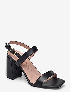 Woms Sandals - högklackade sandaler - black
