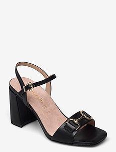 Woms Sandals - sandalen met hak - black