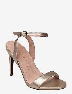 Woms Sandals - sandalen met hak - platinum