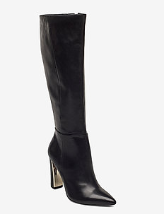 Woms Boots - høye boots - black
