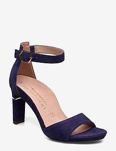 Woms Sandals - sandalen mit absatz - cobalt suede