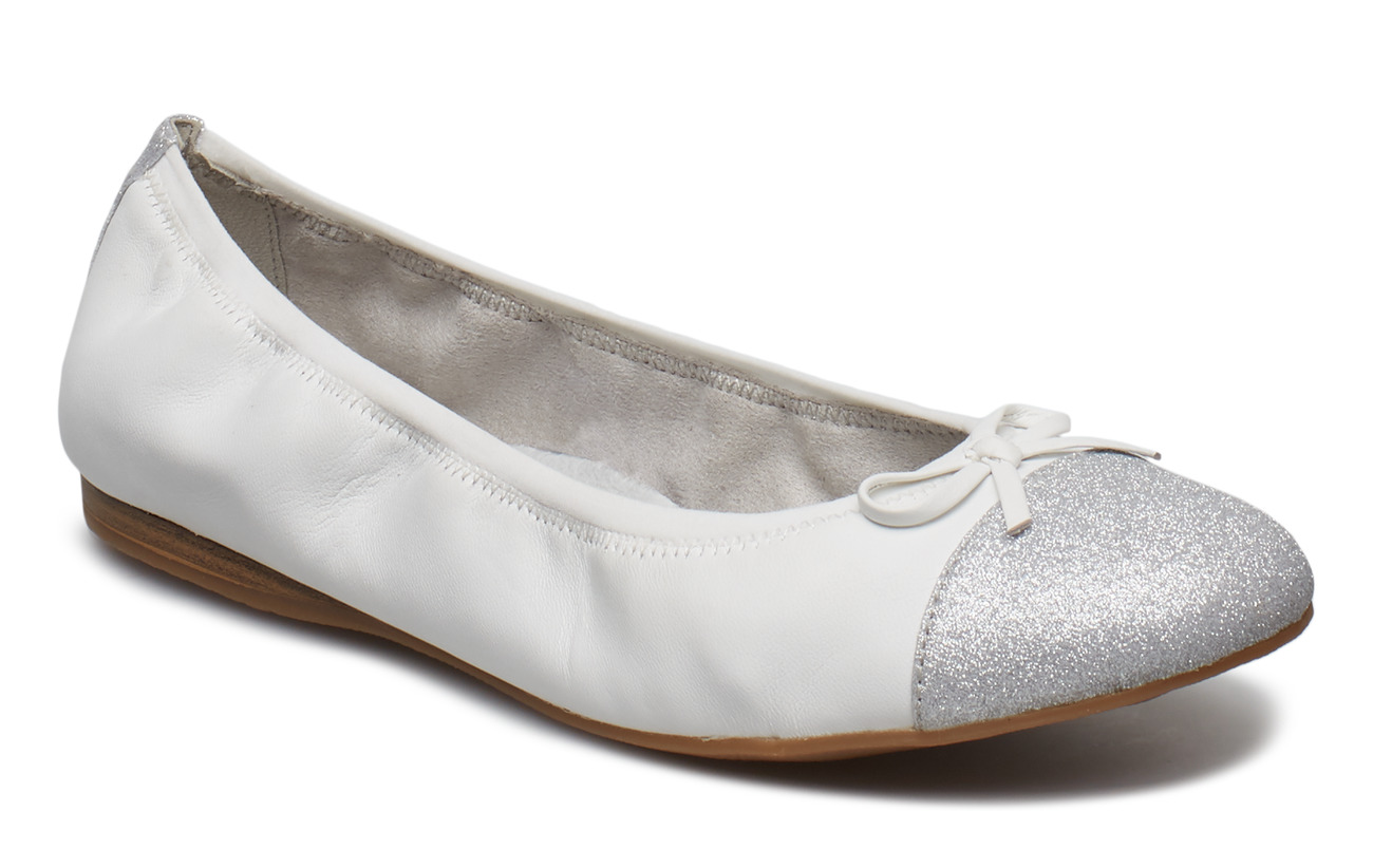 Tamaris Ballerinas - WHITE
