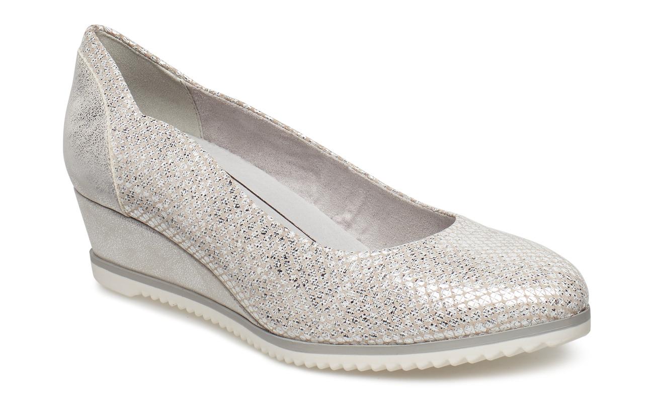 Tamaris Woms Court Shoe - CLOUD STRUCT.