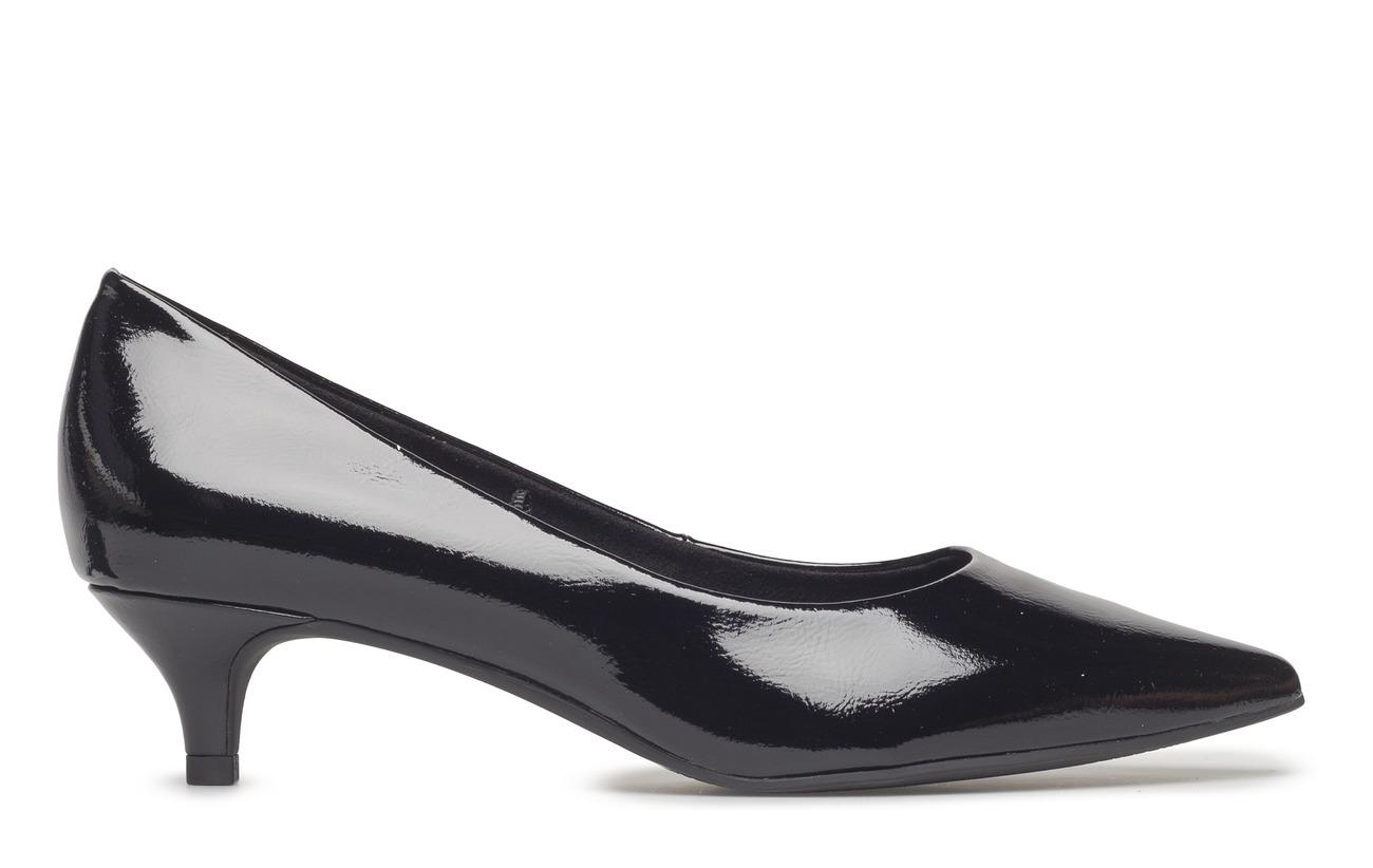 Woms Tamaris Court Patent Semelle Extérieure Synthetic Black Empeigne Shoe 6qrvW51dgq