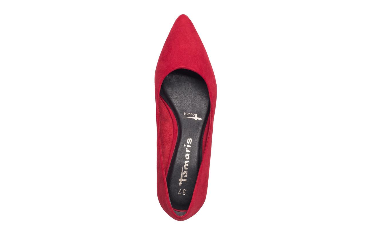 Synthetic Shoe Textile Tamaris Black Court Empeigne Semelle Woms Extérieure 4wwq18zaH
