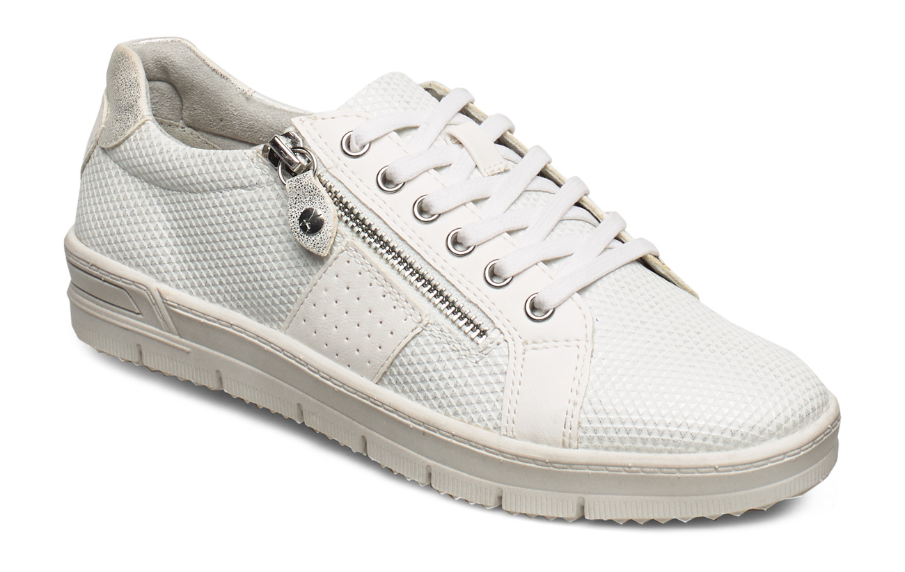 Tamaris Woms Lace-up - WHITE COMB