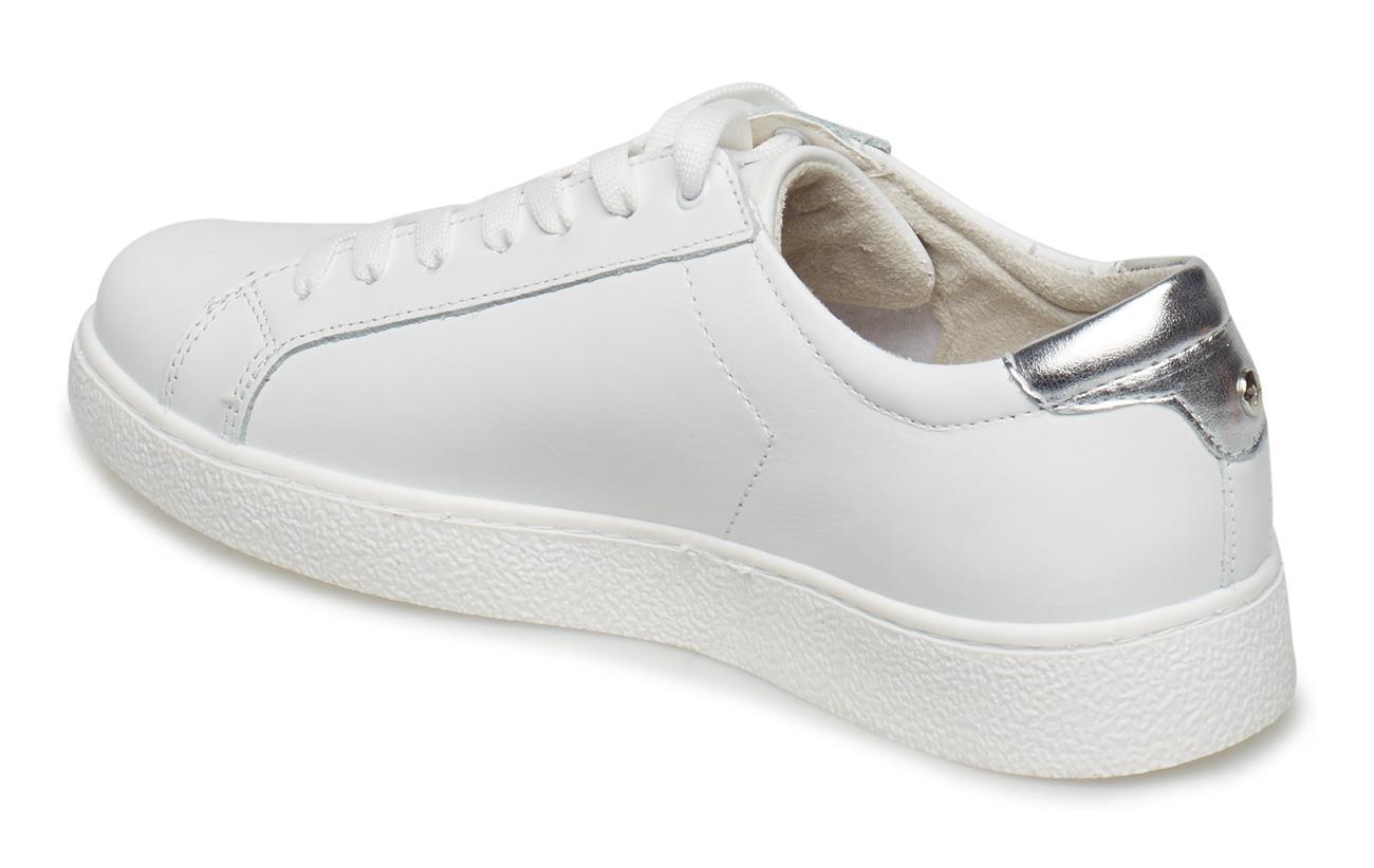 Woms Tamaris Extérieure Cuir black Lace White Synthetic up Empeigne Semelle OqSUdqr